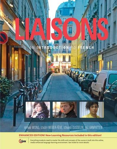 Liaisons An Introduction to French  2015 edition cover