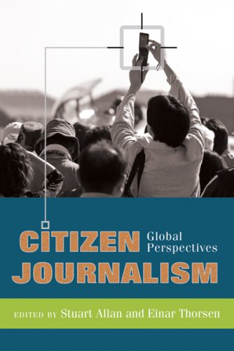 Citizen Journalism Global Perspectives  2009 edition cover