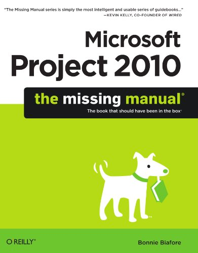 Microsoft Project 2010   2010 9781449381950 Front Cover