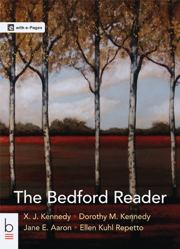 The Bedford Reader:   2013 9781457636950 Front Cover