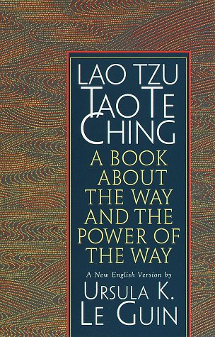 Lao Tzu - Tao Te Ching A Book about the Way and the Power of the Way  1998 edition cover