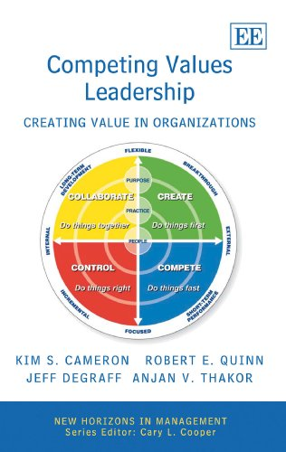 Competing Values Leadership Creating Value in Organizations  2007 edition cover
