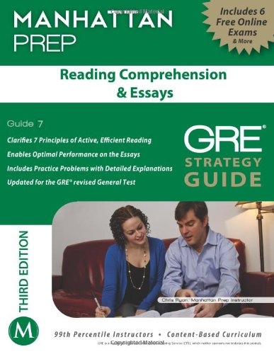 Reading Comprehension and Essays GRE Strategy Guide, 3rd Edition  3rd (Revised) edition cover