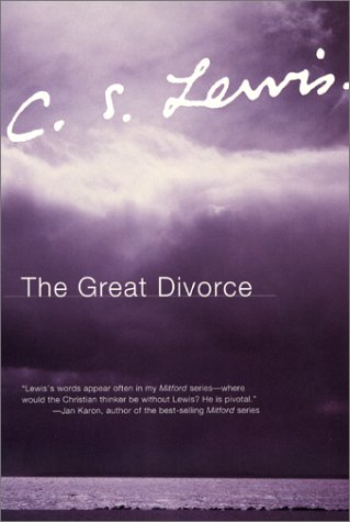 Great Divorce   1973 edition cover