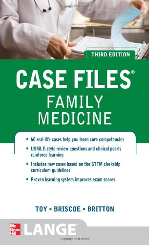 Case Files Family Medicine  3rd 2012 edition cover