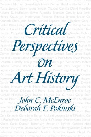 Critical Perspectives on Art History   2002 edition cover