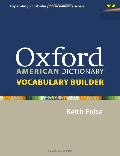 OXFORD AMERICAN DICTIONARY VOCABULARY BUILDER  N/A edition cover