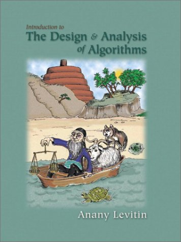 Introduction to the Design and Analysis of Algorithms   2003 9780201743951 Front Cover