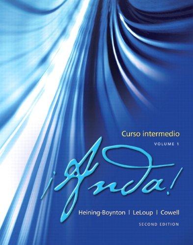 �Anda! Curso Intermedio  2nd 2013 edition cover