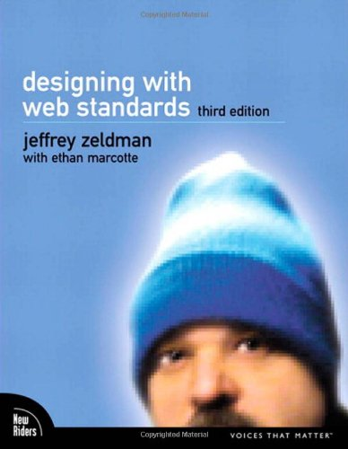 Designing with Web Standards  3rd 2010 edition cover