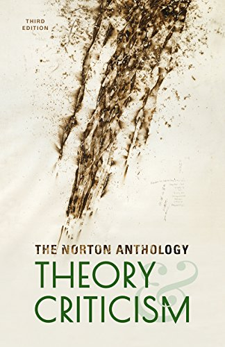 Norton Anthology of Theory and Criticism  3rd 2018 9780393602951 Front Cover
