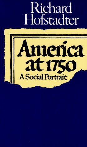America At 1750 A Social Portrait N/A 9780394717951 Front Cover