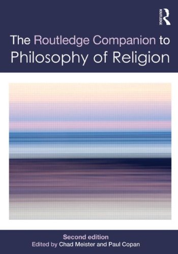 Routledge Companion to Philosophy of Religion  2nd 2012 (Revised) edition cover