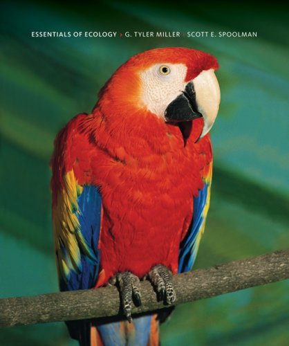Essentials of Ecology  5th 2009 edition cover