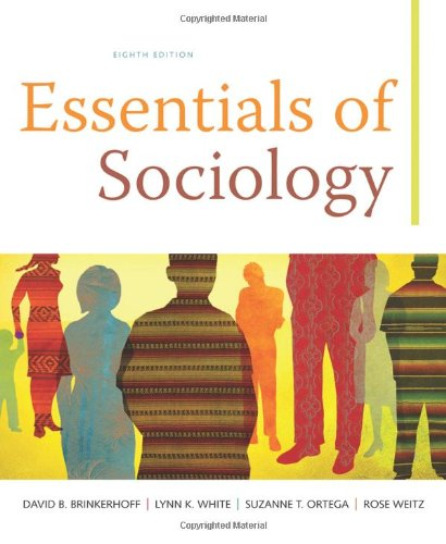 Essentials of Sociology  8th 2011 edition cover