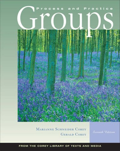 Groups Process and Practice 7th 2006 edition cover
