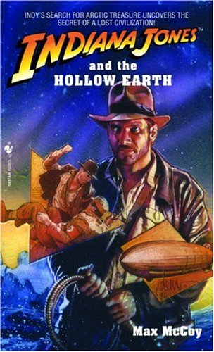 Indiana Jones and the Hollow Earth  N/A 9780553561951 Front Cover