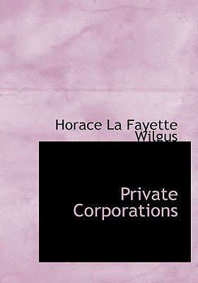 Private Corporations:   2008 edition cover