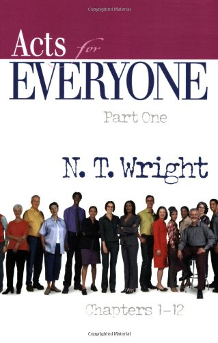 Acts for Everyone   2008 edition cover