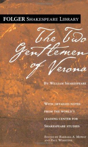 Two Gentlemen of Verona   2006 edition cover