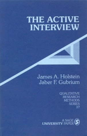 Active Interview   1995 edition cover