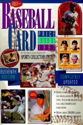 1997 Baseball Card Price Guide 11th 1997 9780873414951 Front Cover