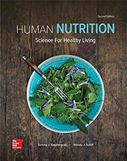 HUMAN NUTRITION                         N/A 9781259709951 Front Cover