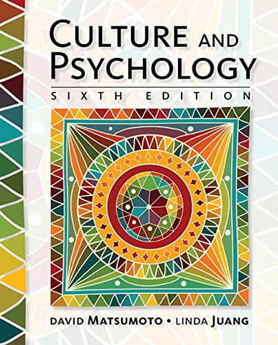 Culture and Psychology:   2016 9781305648951 Front Cover