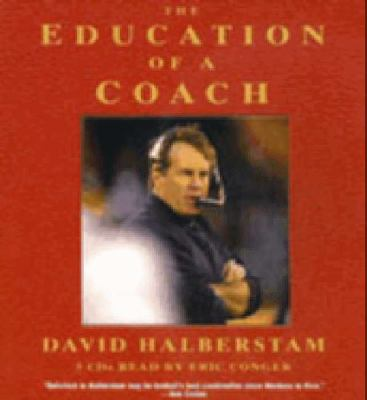 Education of a Coach Abridged  9781401384951 Front Cover