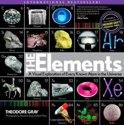Elements A Visual Exploration of Every Known Atom in the Universe  2012 edition cover