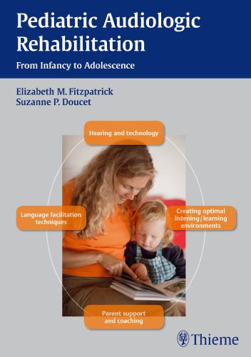 Pediatric Audiologic Rehabilitation From Infancy to Adolescence  2013 9781604066951 Front Cover