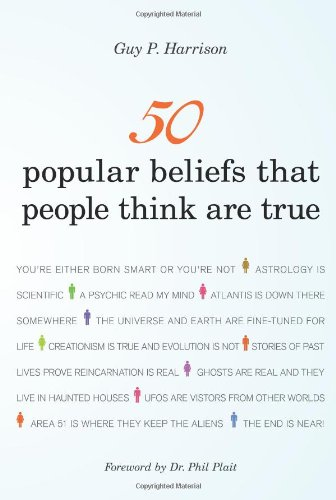 50 Popular Beliefs That People Think Are True   2011 edition cover