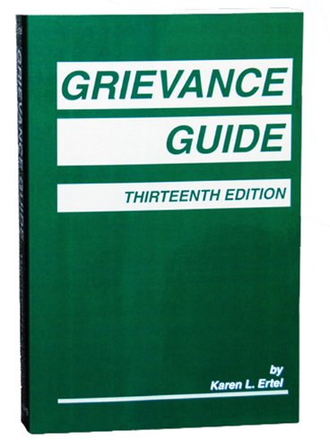 Grievance Guide  13th 2012 edition cover