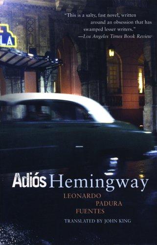 Adios Hemingway  N/A edition cover