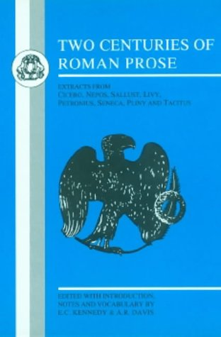 Two Centuries of Roman Prose  N/A edition cover