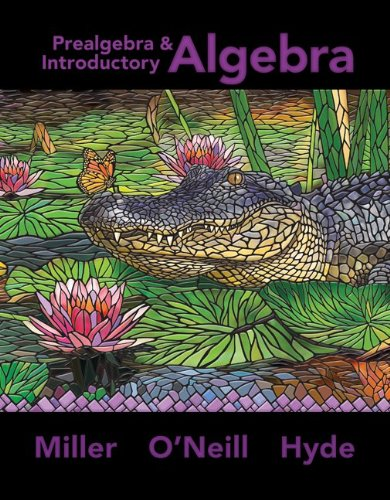 Prealgebra & Introductory Algebra   2013 9780073512952 Front Cover