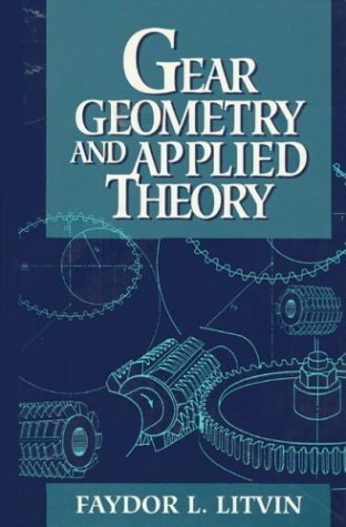 Gear Geometry and Applied Theory  1st 1994 9780132110952 Front Cover