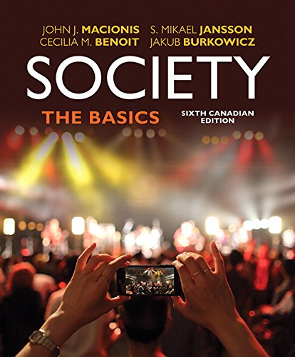Society The Basics 6th 2017 9780133436952 Front Cover