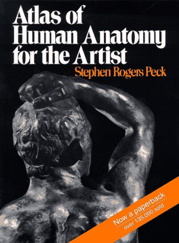 Atlas of Human Anatomy for the Artist   1951 edition cover