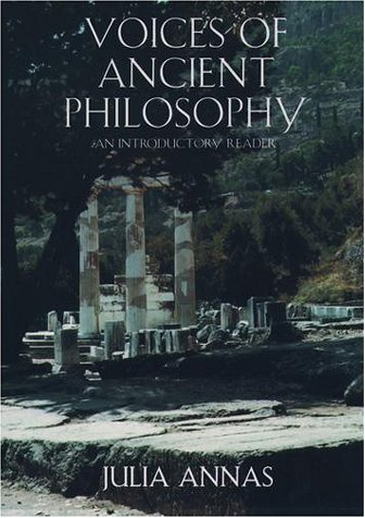 Voices of Ancient Philosophy An Introductory Reader  2001 (Reprint) edition cover
