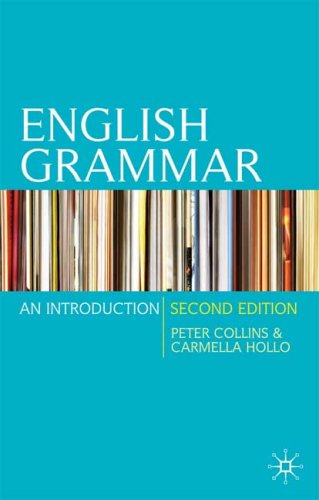 English Grammar An Introduction 2nd 2009 (Revised) 9780230216952 Front Cover