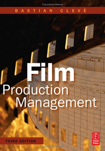 Film Production Management  3rd 2006 (Revised) edition cover