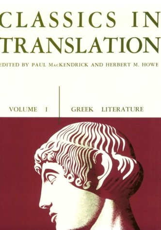Classics in Translation  N/A edition cover