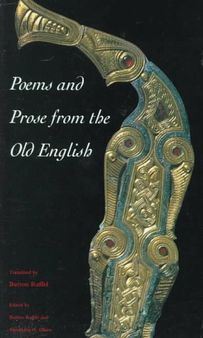 Poems and Prose from the Old English  2nd 1998 edition cover