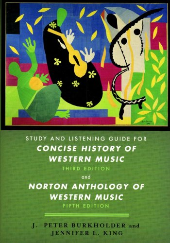 Concise History of Western Music   2007 edition cover