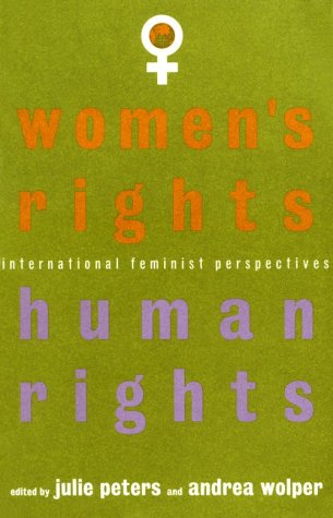 Women's Rights, Human Rights International Feminist Perspectives  1995 edition cover