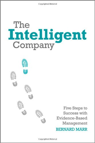 Intelligent Company Five Steps to Success with Evidence-Based Management  2010 edition cover