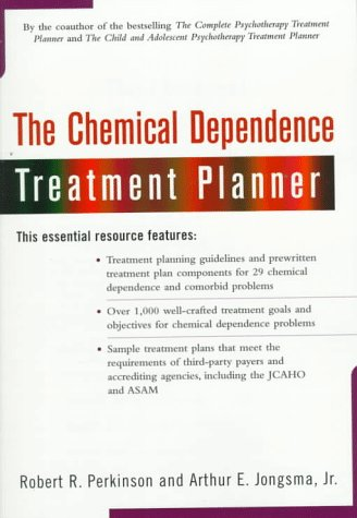 Chemical Dependence Treatment Planner   1997 9780471237952 Front Cover
