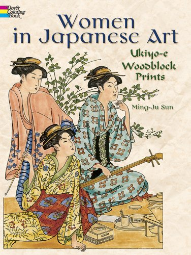 Women in Japanese Art Ukiyo-E Woodblock Prints N/A edition cover