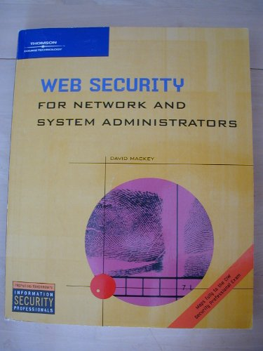 Web Security for Network and System Administrators   2003 edition cover